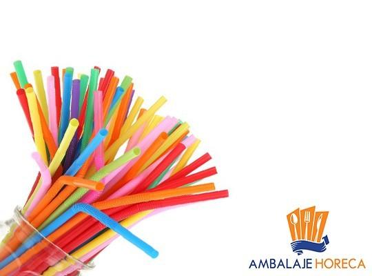 Paie flexibile multicolor ambalate individual