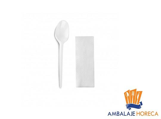 Set ciorba lingura si servetel